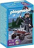 Playmobil - 4872 - Jeu de construction - Canonnier des chevaliers du Faucon