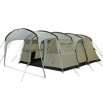 10t Camping Zelt Sorrento 6 Tunnelzelt Mit Schlafkabinen Für 6