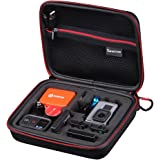 Smatree SmaCase G160 Carrying Case for Gopro Hero 2018/Gopro Hero 7, 6, 5, 4, 3, 2, 1( Camera and Accessories Not Included)