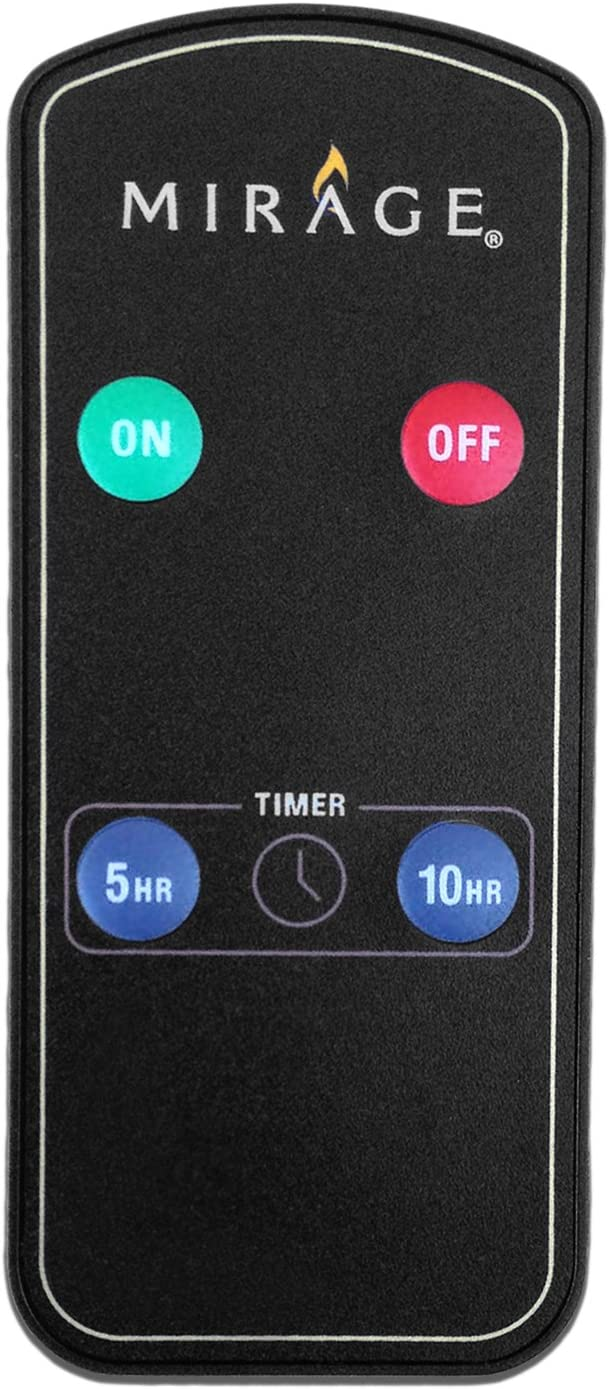 Candle Impressions by Sterno Home Mirage Remote Control Unit, Black (RCDF103)