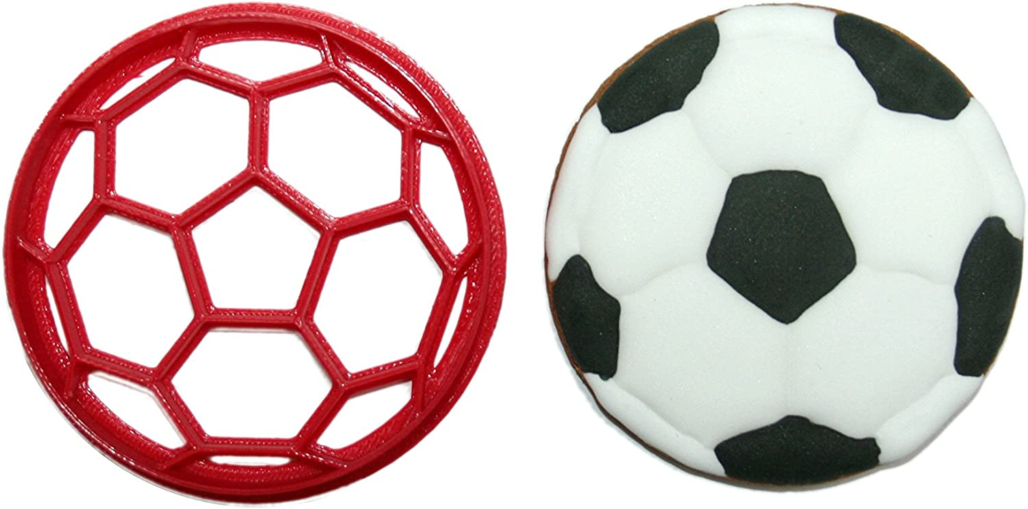 Soccer Love Cookie Cutter 3d printed plastic