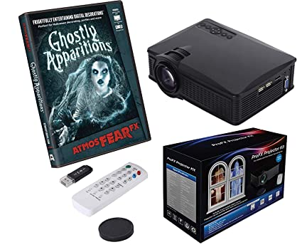 profx projector kit ghostly apparitions atmosfearfx dvd halloween digital decorations