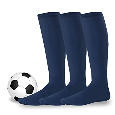 Soxnet Cotton Unisex Soccer Sports Team Socks 3 Pack