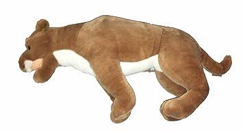 Amazon Com Large Saber Tooth Tiger Plush 25 Toys Games
