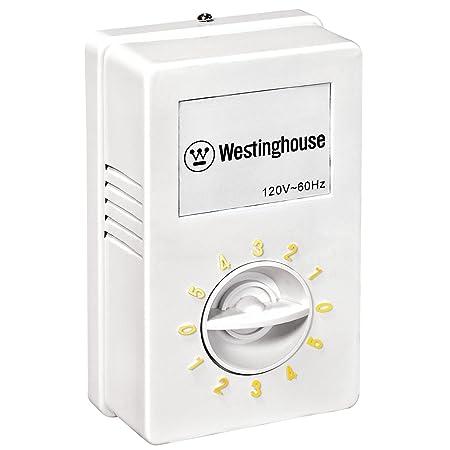 Westinghouse 7861400 Industrial Desencofrador filos Ventilador de techo con bola con sistema de instalación, níquel cepillado: Amazon.es: Iluminación