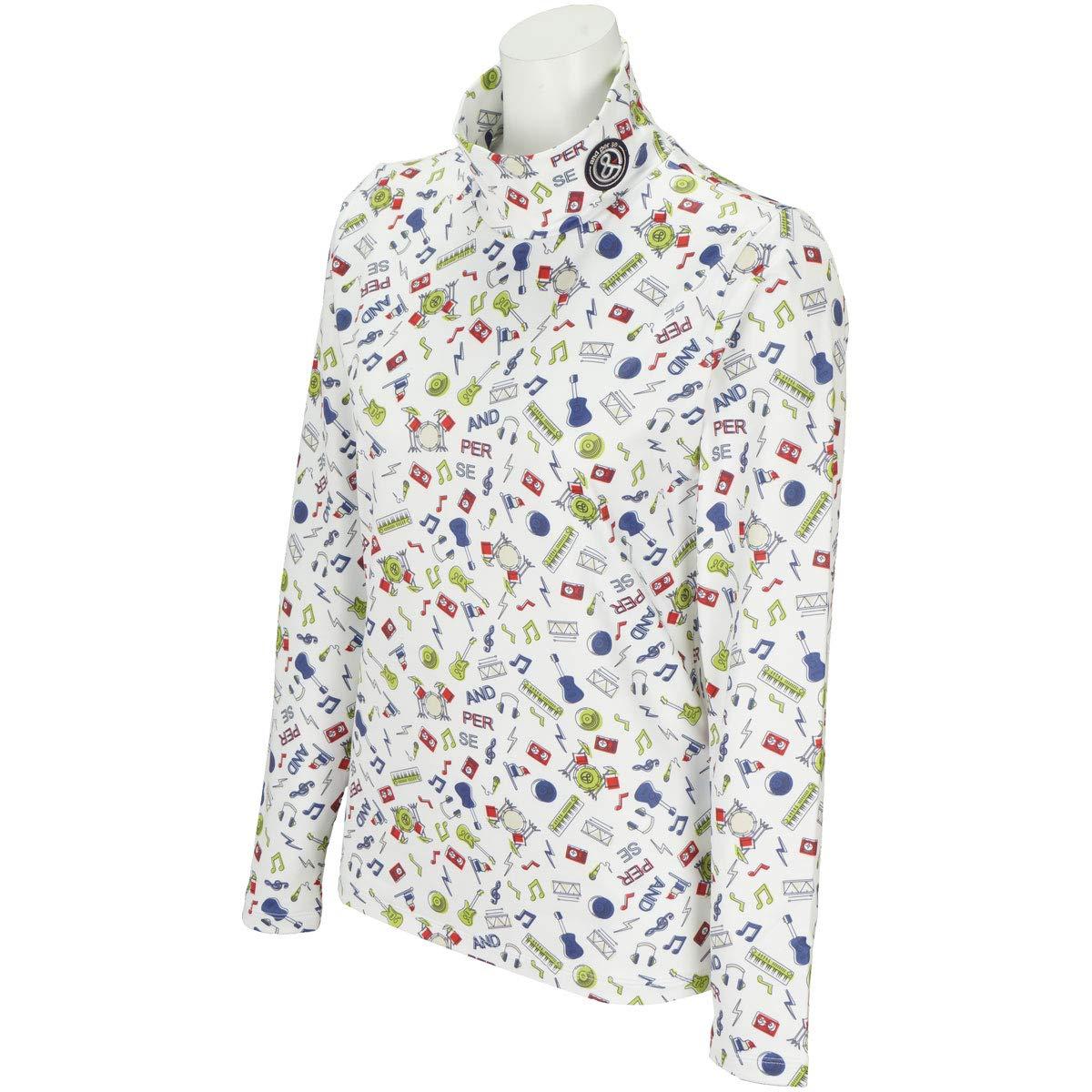 [アンパスィ] ハイネックシャツ レディース A9218FFP7 B07HYBXX5X 日本 S (日本サイズS相当)|ホワイト ホワイト 日本 S (日本サイズS相当)