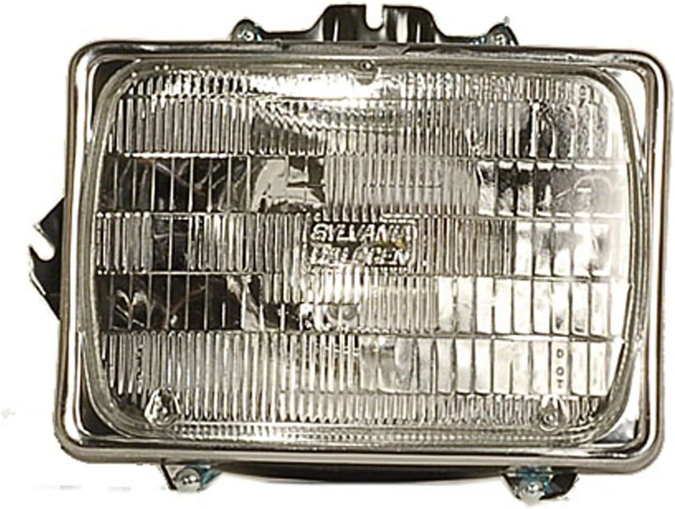 Replaces F5TZ 13201 AB F5TZ 13200 AB ; For 1992-1996 Ford Bronco Pair Driver and Passenger Side Parking Light Lens and Housing Only FO2520116 FO2521114