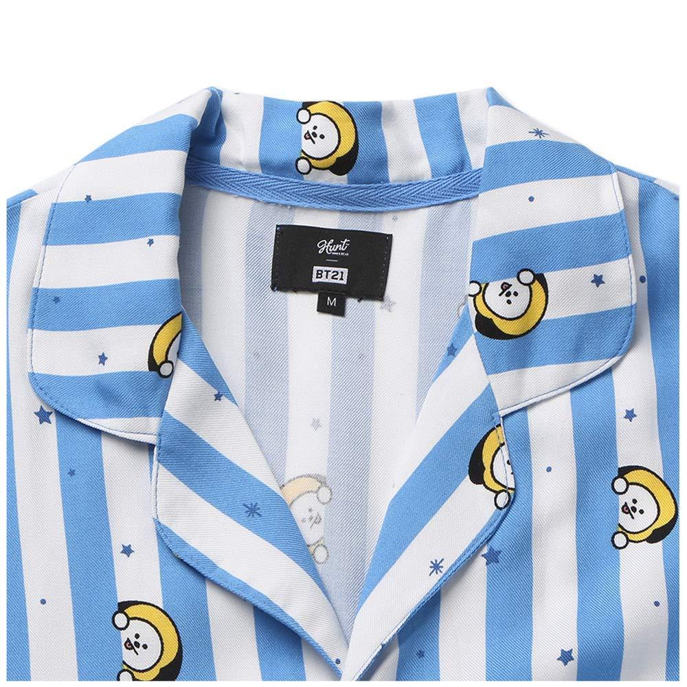 Amazon.com: BT21 X Hunt Innerwear Collarboration Pajamas (S, CHIMMY): Clothing