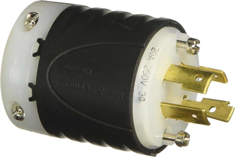 NEW Pass /& Seymour Legrand L1620-P 20A 3PH 480V 3P Turnlok Plug •WE SHIP FAST!