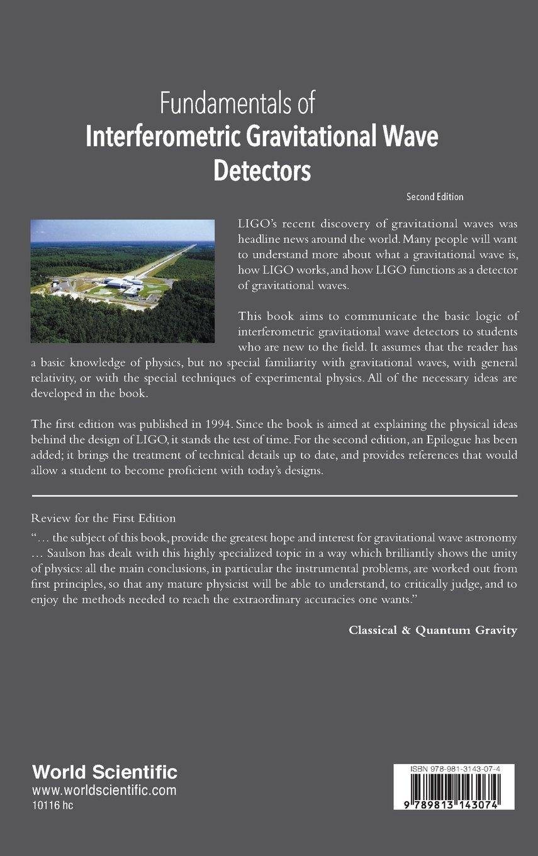 Fundamentals Of Interferometric Gravitational Wave Detectors: Amazon.es: Peter Saulson: Libros en idiomas extranjeros