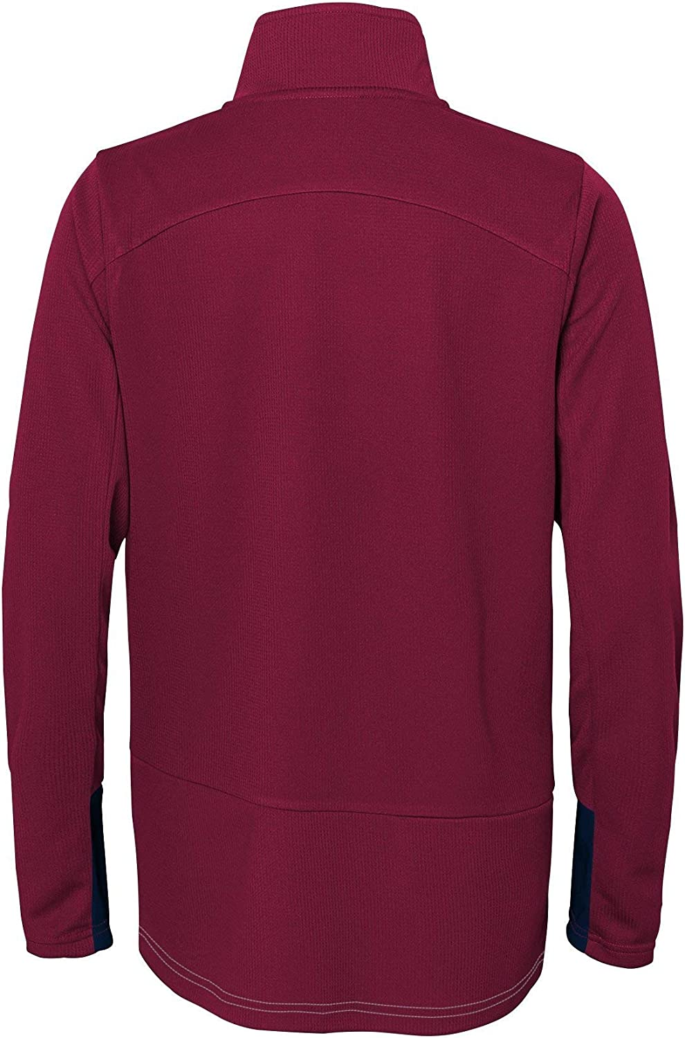 Outerstuff Boys Big Shooter 1//4 Zip Long Sleeve Top