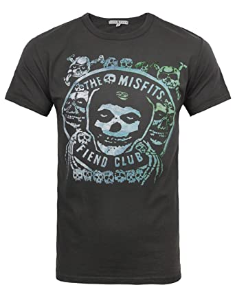d7091c27 Junk Food Misfits Fiend Club Men's T-Shirt (XL): Amazon.co.uk: Clothing