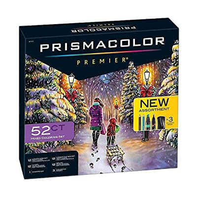 Newell Brands Inc. Prismacolor Premier 52-Piece Premium Mixed Coloring Set: Toys & Games