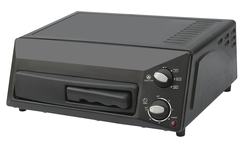 Magic Chef Countertop Pizza Oven HQPZO13B Black, 12 inches