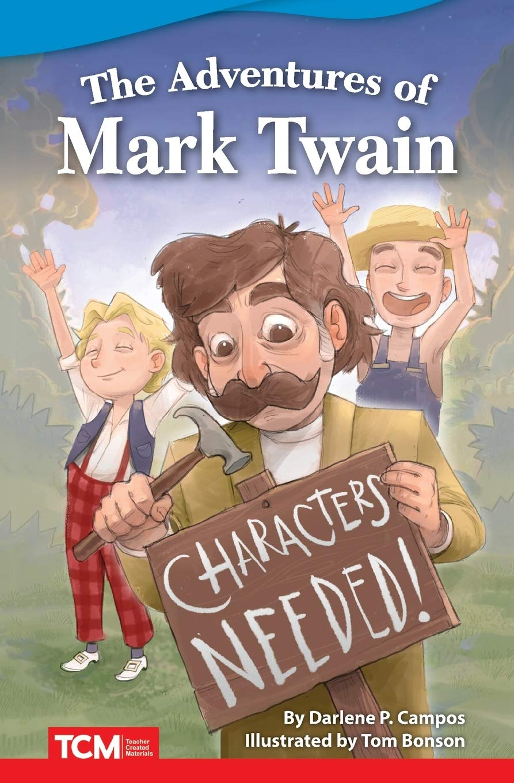 The Adventures Of Mark Twain Fiction Readers Campos Darlene P Amazon De Bucher