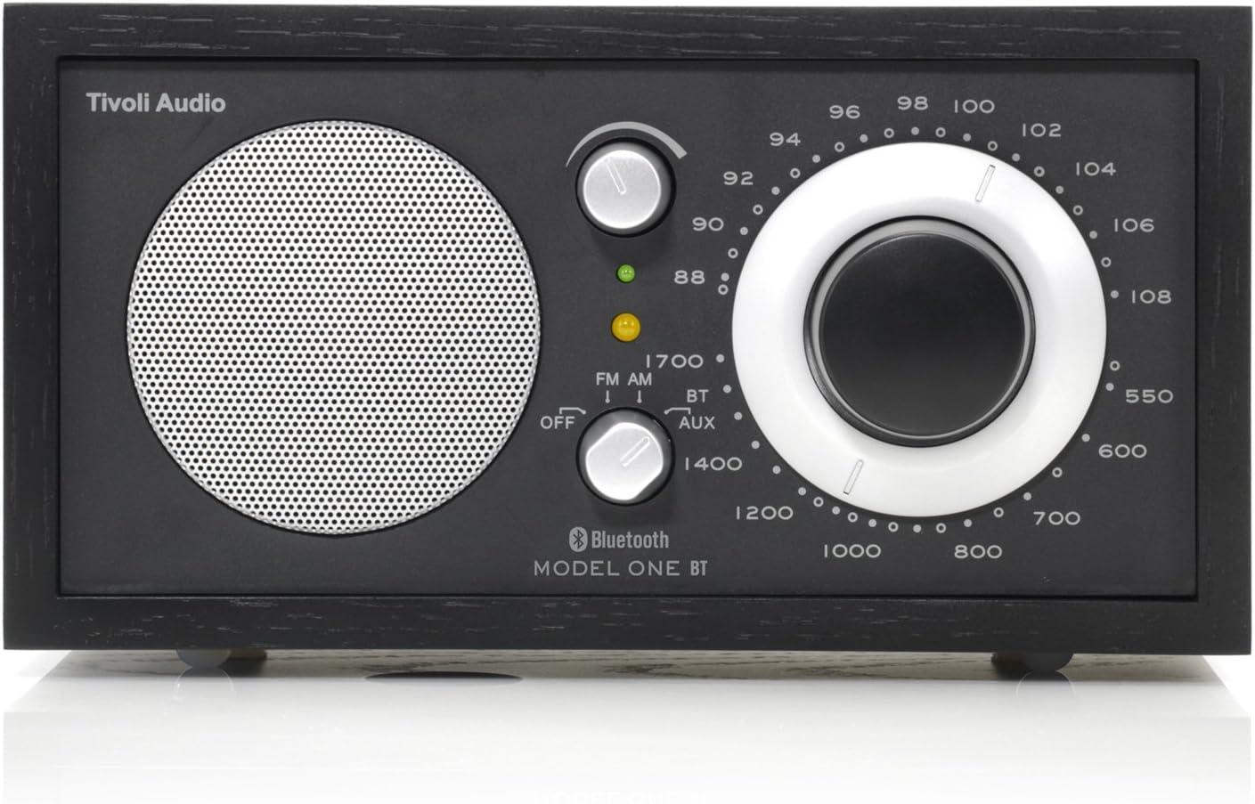 Tivoli Model One Bluetooth Ukw Mw Radio In Schwarz Schwarz Silber Heimkino Tv Video