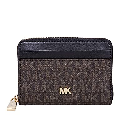 bc128a46ed7c Image Unavailable. Image not available for. Color  Michael Kors Small Logo Print  Wallet- ...