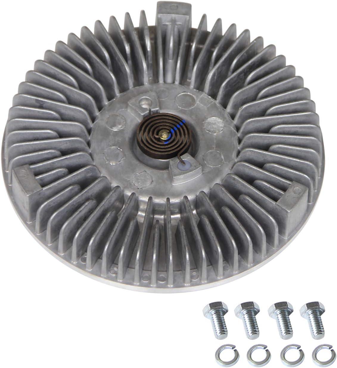 Engine Cooling Fan Clutch Radiator Fan Clutch for 1997-2000 Dodge Dakota V8 5.2L 5.9L Replace#2822