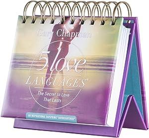 DaySpring Flip Calendar - 5 Love Languages by Dr. Gary Chapman - 88446