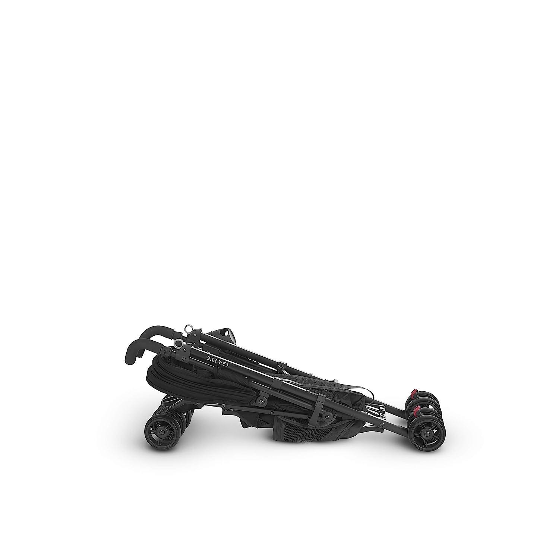 UPPAbaby G-LITE Stroller Red//Silver Denny + G-LITE Rain Shield