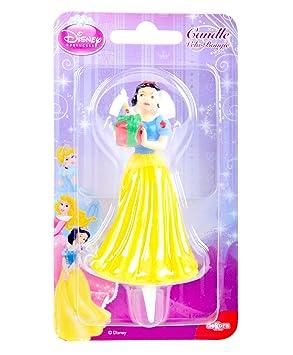 Vela de Cumpleaños Blanca Nieves Disney Dekora
