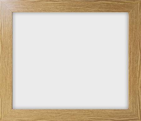 12x15 30x38cm Modern 721 Oak Effect Photo Frame With Glass