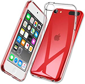 ESR Essential Zero Case for iPod Touch 7/iPod Touch 6, Slim Clear Soft TPU Case for iPod Touch 7th Gen/6th Gen, with Precise Cutouts & Raised Edges, Crystal Clear