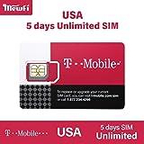 【T-Mobile】アメリカ SIMカード T-Mobile 回線利用 高速データ通信使い放題 USA ハワイ ((5日間高速データ使い放題)