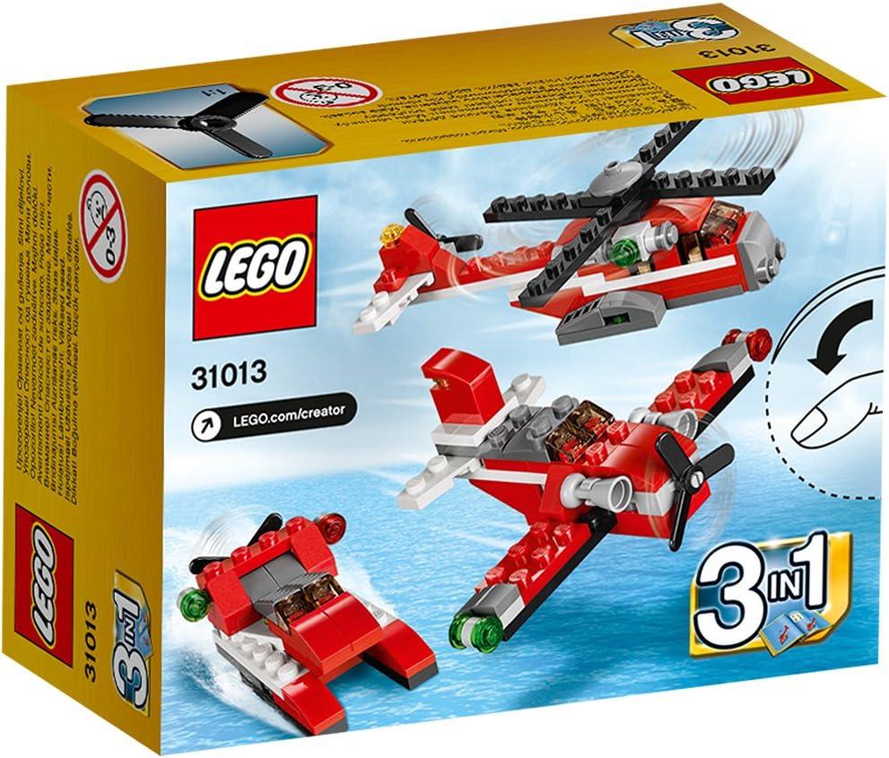 Amazon Com Lego Creator 31013 Red Thunder Toys Games