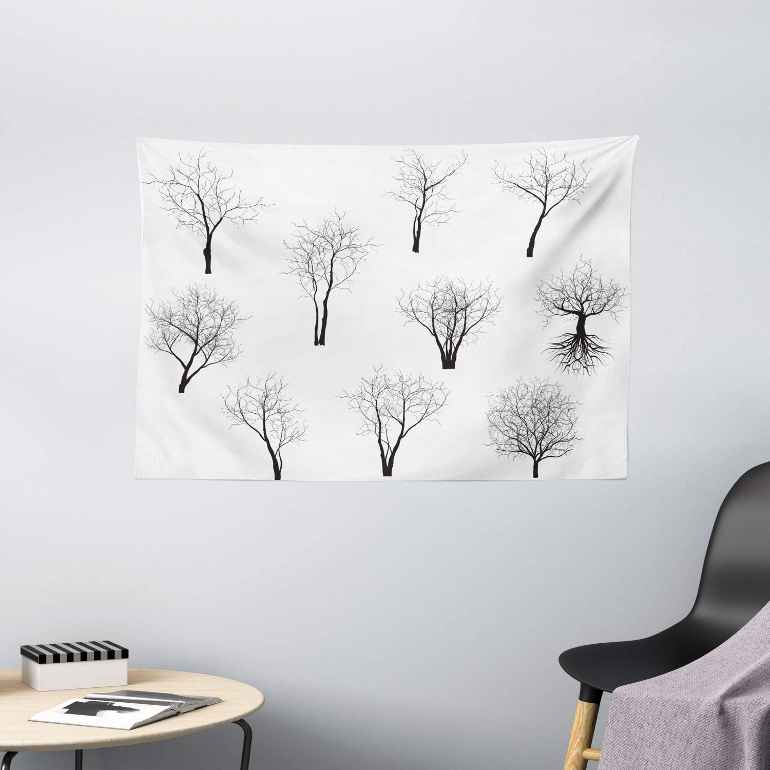 Amazon Com Ambesonne Apartment Decor Tapestry Spooky Horror