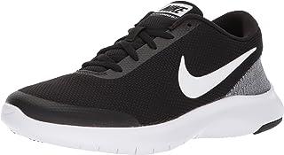 Nike Women's Flex Experience 7 Running Shoe, Black/White-White, 8 Wide US