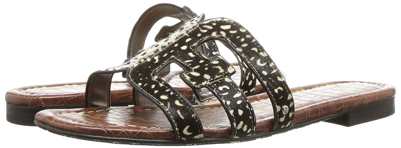 Sam B078HLPQ9L Edelman Women's Bay Slide Sandal B078HLPQ9L Sam 6.5 B(M) US|Black/Black Ivory 34bf7f