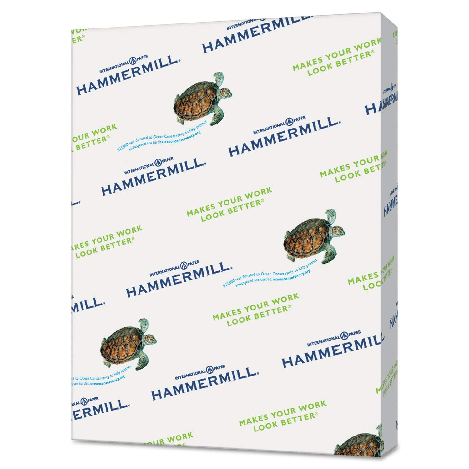 Hammermill Recycled Colored Paper, 20lb, 8-1/2 x 11, Ivory, 5000 Sheets/Carton - 103176CT