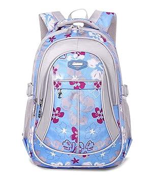 FNKSCRAFT® mochilas escolares niña mochila viaje Mochilas infantiles waterproof Bolsas escolares (azul): Amazon.es: Equipaje