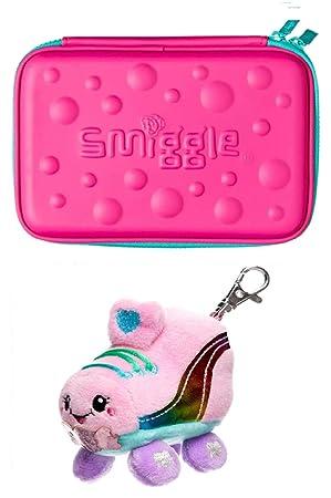Smiggle - Estuche rígido con diseño de burbujas con llavero ...