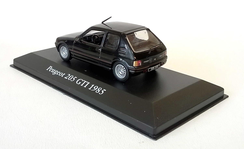 Peugeot 205 GTI 1985 1:43 - LES VOITURES MYTHIQUES de DOMINIQUE CHAPATTE - DIECAST: Amazon.es: Juguetes y juegos
