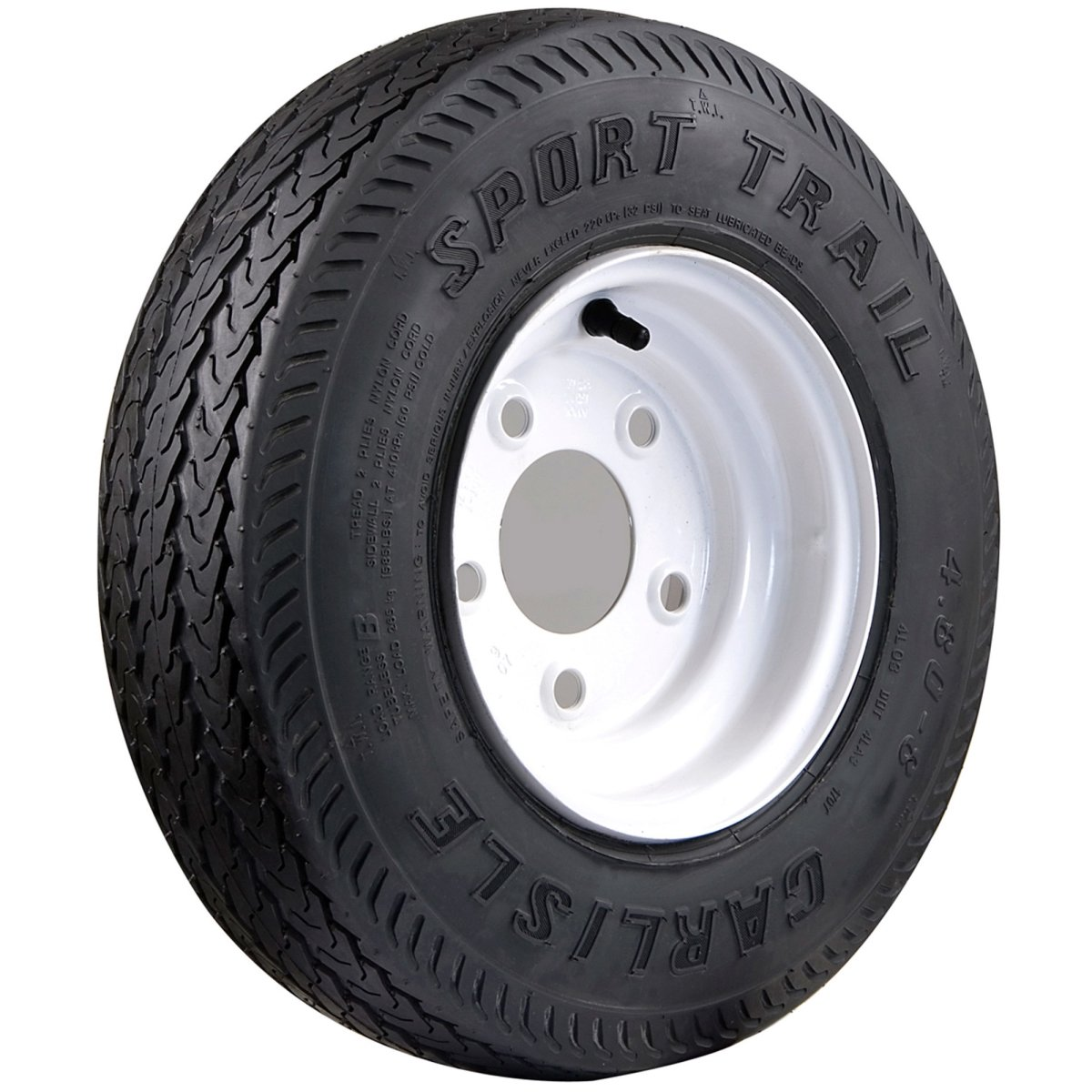 Carlisle Sport Trailer Tire 16.5x6.5-8