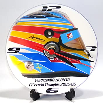 CASCO DE FERNANDO ALONSO RACE * Un CD/DVD (12 cm de diámetro)