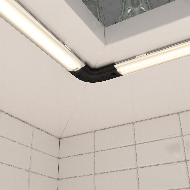 parlat LED Unterbau-Leuchte SIRIS mit Netzteil, flach: Amazon.de ...