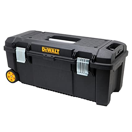 .com: dewalt 28 in. tool box on w: automotive