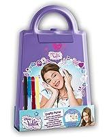Disney Violetta Fille Petit sac pour les dessins - mauve