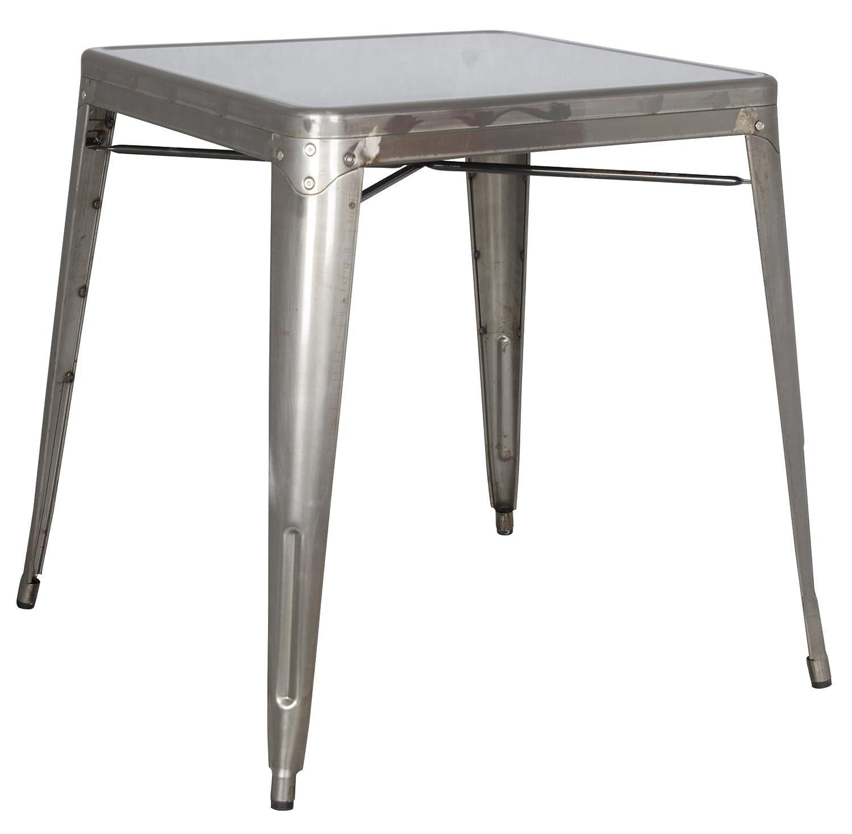 Milan DT-Gun Irene Steel Dining Table Metal