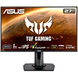 ASUS TUF Gaming VG279QM 27 inch Full HD HDR Gaming Monitor, Fast IPS, Overclockable 280Hz (Above 240Hz, 144Hz), 1ms (GTG…