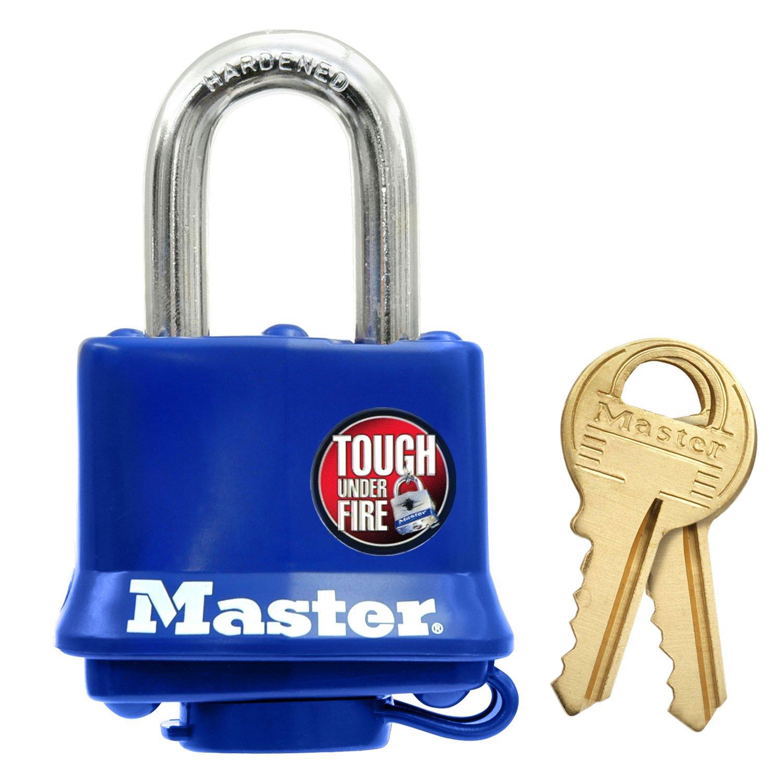 Master Lock 312D Weatherproof Padlock by Master Lock