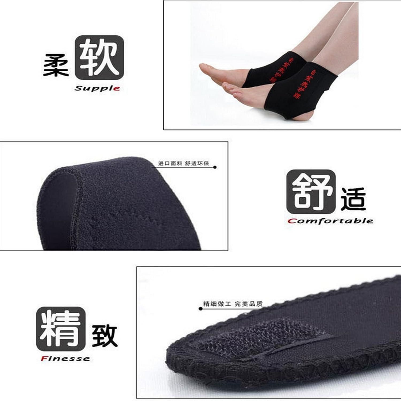 JIAHAO Self Chauffage Th/érapie magn/étique Cheville de massage Ceinture Pad