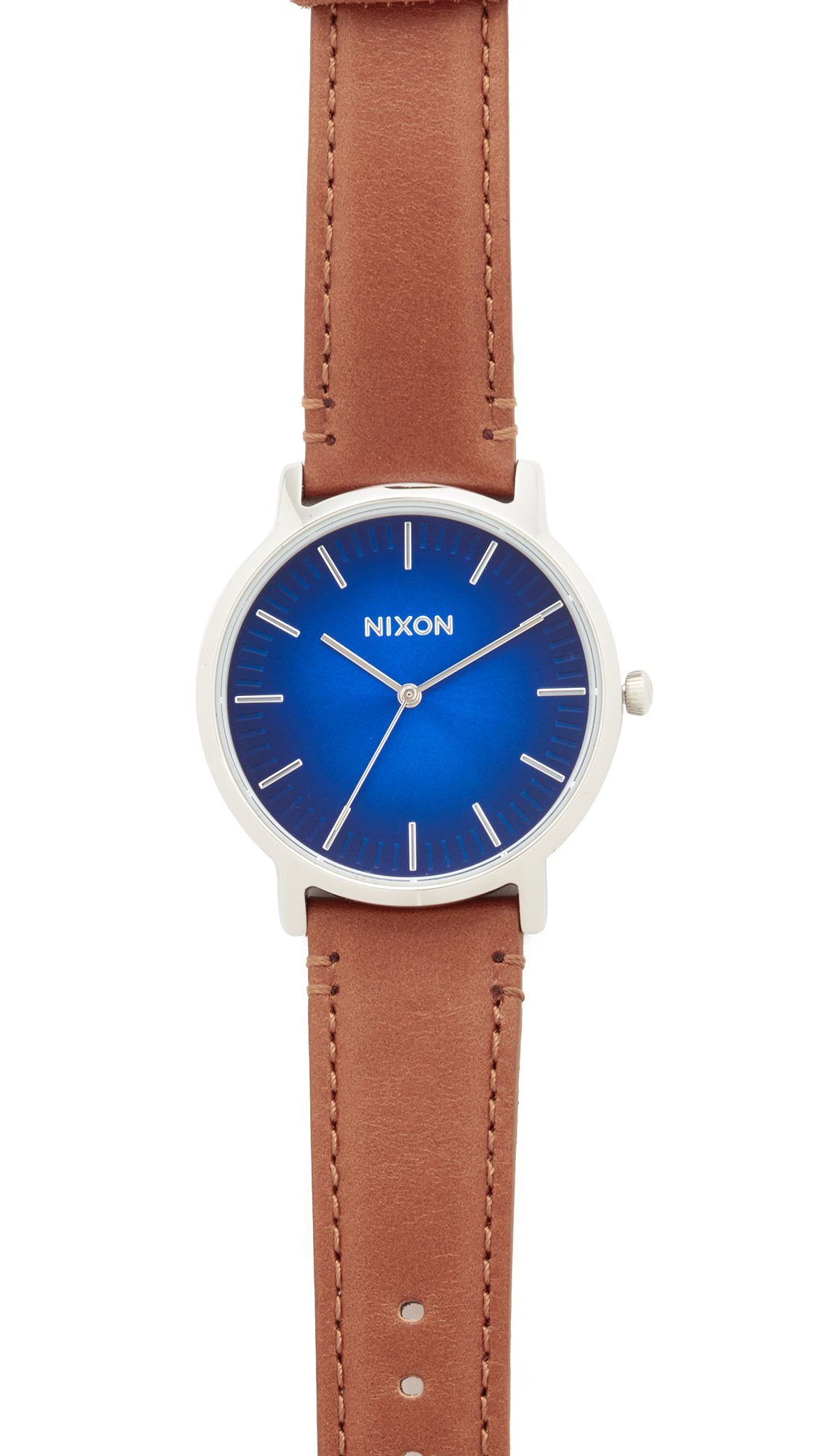 Nixon Men's The Porter Watch, Blue Ombre/Saddle, One Size
