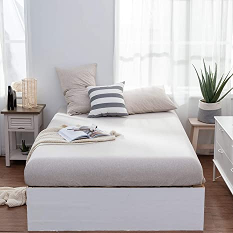 Top Quality Plain Dyed Fitted Deep Sheets /& Pillow Cases All Sizes 25 Colours