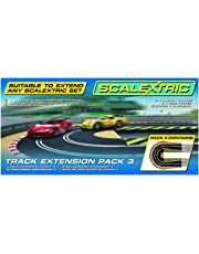Hornby Scalextric C8512 Track Extension Pack-2x Hairpin Curves 2 Side Swipes Borders Barriers