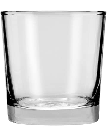 794f49e9d01 Anchor Hocking 3178EZ Not Not Available Heavy Base Rocks Old Fashioned  Whiskey Glasses