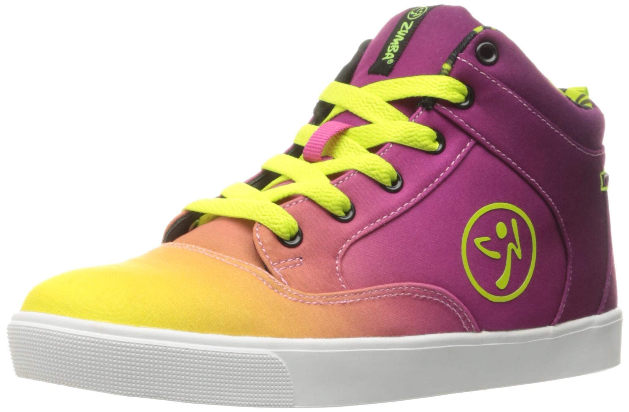Zumba Women's Rio Street Fresh Dance Shoe, Purple, 7 M US